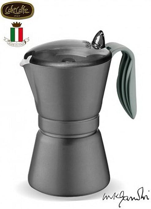 GAT Italy - Cafetera Italiana de 3 Tazas, Aluminio, Color Negro ...