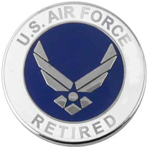 Air Force Wing Retired Lapel Pin