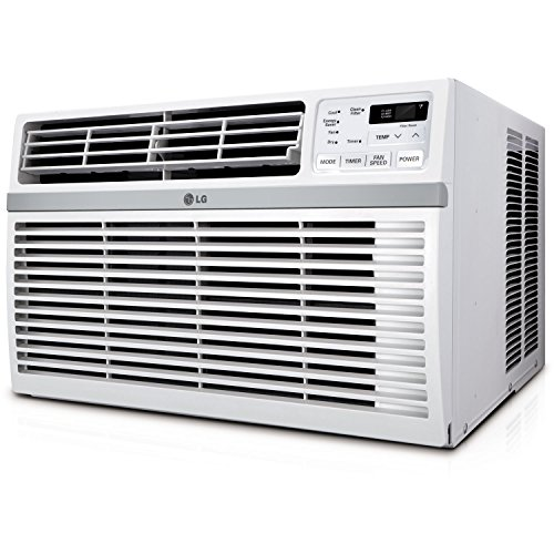 LG LW8016ER 8,000 BTU 115V Window-Mounted AIR Conditioner with Remote Control - High Efficiency Electric Panel