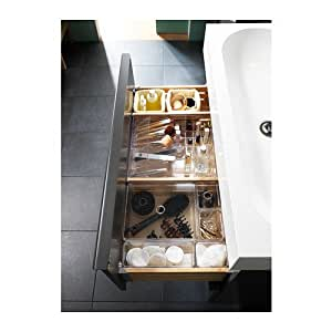 Transparent Storage Box With Compartments