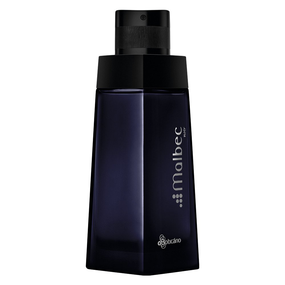 Linha Malbec Boticario - Colonia Noir 100ml - (Boticario Malbec Collection - Noir Eau De