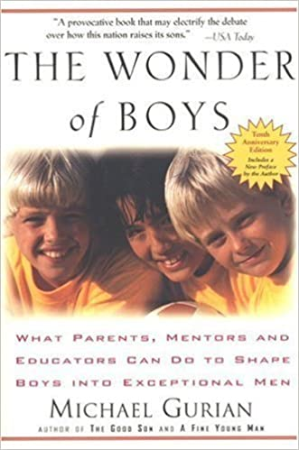 Book The Wonder of Boys 10th (tenth) Anniversaey Edition by Gurian, Michael published by Tarcher (2006)