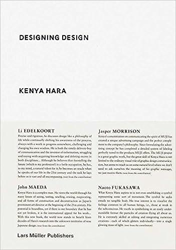 designing design kenya hara 9783037784501 amazon com books