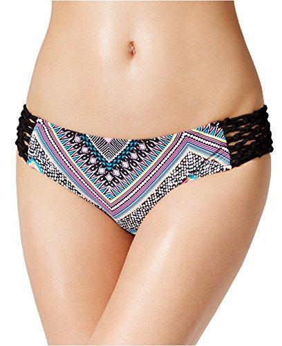 Bikini-Nation-Juniors-Lattice-Side-Printed-Hipster-Bikini-Bottom