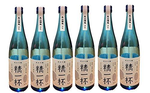 【6本セット】【福島×銀座×山口 酒づくりプロジェクト】銀座流精一杯(720ml×6本) B06XW32M5Y