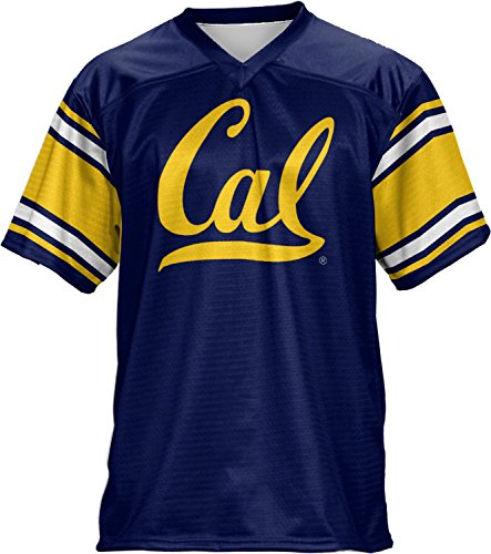 ProSphere UC Berkeley Cal Men's Football Fan Jersey - End Zone FCF41 (Berkeley Jersey)