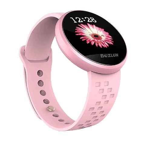 Reloj Inteligente Mujer Ligero Mujer Pantalla táctil 1.04 Pulgadas Monitor sueño físico Relojes Inteligentes Prueba Agua