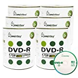 Smart Buy 600 Pack DVD-R 4.7gb 16x Logo Blank Data Video Movie Recordable Disc, 600 Disc 600pk