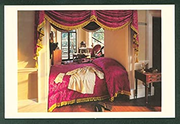 Merveilleux President Thomas Jeffersonu0027s BEDROOM STUDY Monticello Interior Postcard