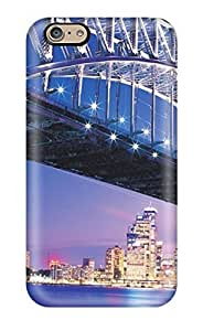 Ultra Slim Fit Hard Rachel B Hester Case Cover Specially Made For Iphone 6- Beautiful Sydney Bridge