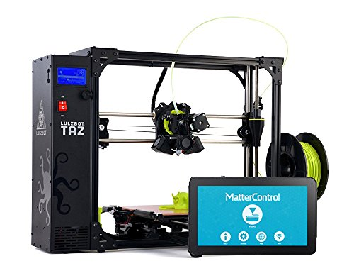 LulzBot Taz 6 Open Source 3D Printer with MatterControl Touch T10 Controller MatterHackers Printers