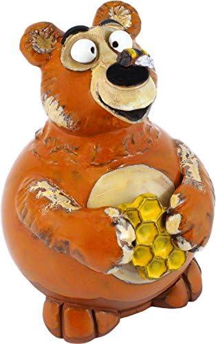 G.W. Schleidt Terra-Pals Bear Outdoor Statue Garden Art