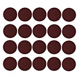 Homyl 20 Pieces 5 Inch 40-3000 Grit Sanding And Grinding Discs Sand Paper Sand Disks- For Rotary Tools, Die Grinder, Drill, Carpenters, Woodworking, Metalworking - Red, 2000 Grit