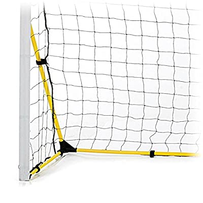 SKLZ Quickster Soccer Goal- Quick Set-Up, Ultra Portable Soccer Goal (12x6', 8x5', or 6x4')