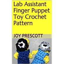 Lab Assistant Finger Puppet Toy Crochet Pattern