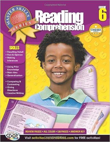 Book Reading Comprehension, Grade 6 (Master Skills)