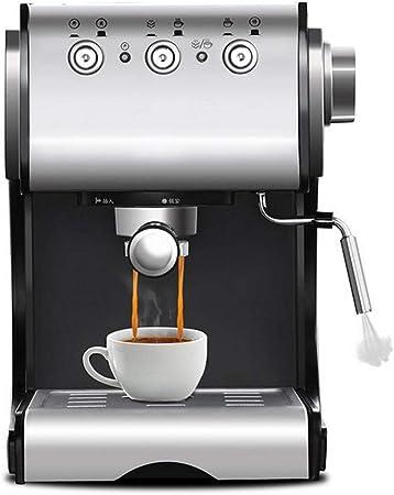 TnSok Portátil Molinillos de Café Duradera Cafetera Máquina Semi Automática Y 20 Bares Cafetera Barista Casa De Vapor Uso De Máquinas Herramientas (Color : Silver, Size : One Size): Amazon.es: Hogar