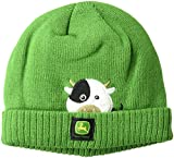 John Deere Boys' Toddler Winter Cap, Green,