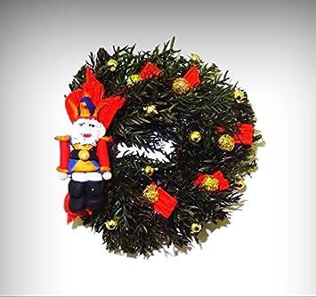 IGMA Artisan Judith Orr Super Tiny Christmas Angel Bear 1:12 Dollhouse Miniature