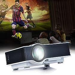 Uvistar Uc40 Hd Mini Pico Projector Home Theater Cinema Projector Business Projector Av A V Usb Sd Hdmi Projector Multi Language