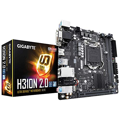 Gigabyte GB H310N 2.0 Mini-Itx Motherboard [Intel H310 Chipset] MB4785