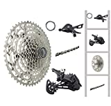 JGbike Compatible 12 Speed 4pc MTB groupset for