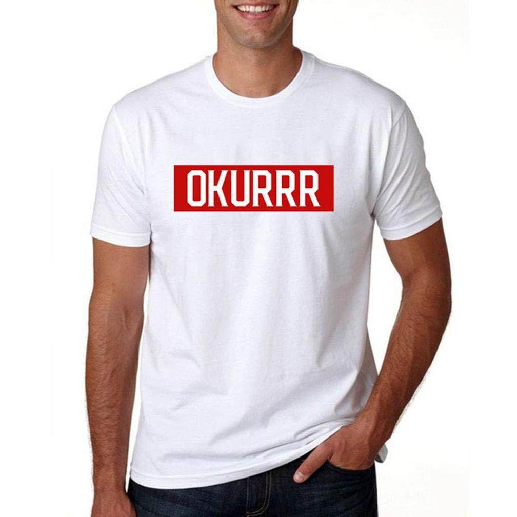 Okurrr Cardi B S Printing S Funny Short Sleeves Shirts