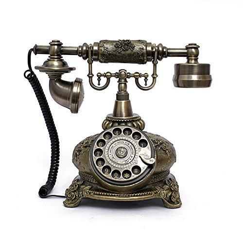 vintage rotary telephone - 4