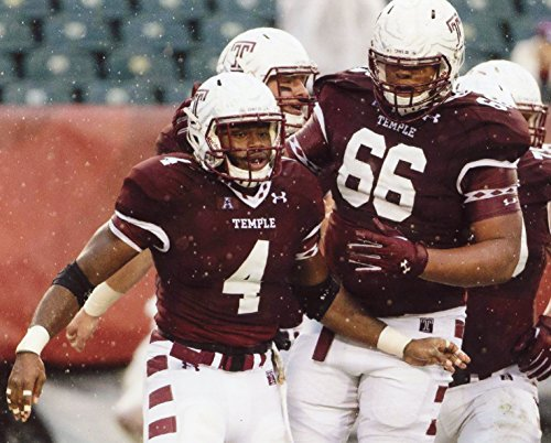 DION DAWKINS TEMPLE OWLS FOOTBALL 8X10 SPORTS ACTION PHOTO (GG)