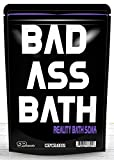 Badass Bath Soak – Bad Ass Bath Salts Purple Bath Funny Gifts for Friends Funny Bath Products Spa Gifts for Men Stocking Stuffers Gag Gifts for Women Cool Gifts for Guys Dad Unisex White Elephant Gift