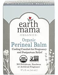 Earth Mama Organic Perineal Balm for Pregnancy and Postpartum, 2-Fluid Ounce
