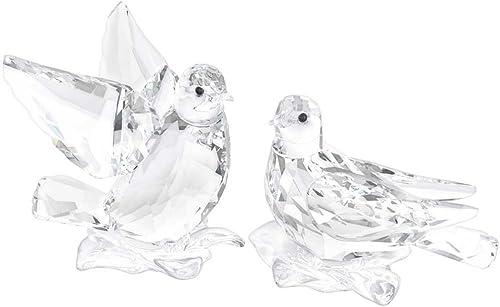 Swarovski Turtledoves Figurine