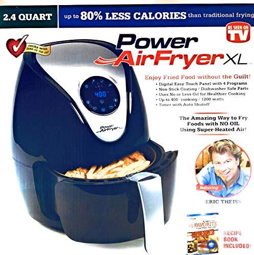 TRISTAR PRODUCTS 33-0801-RT 2.4Qt Power Air XL Fryer