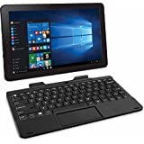 RCA 10 inches WINDOWS 10 - TABLET PC W/ DETACHABLE KEYBOARD-Black Color