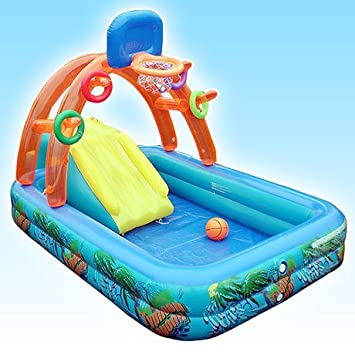 yqooo; parte Pool Home - Candado Pool Infant hinchable inflable ...