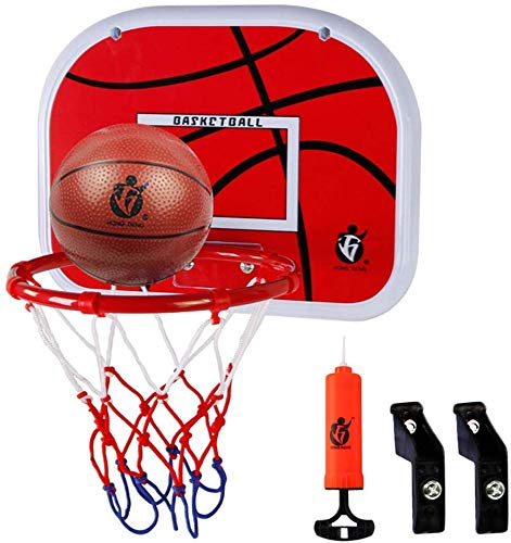 FITEX Kids Indoor Basketball Hoop wall mounted Mini Hanging Basketball Board Kids Basketball backboard Stand with Net for Children
