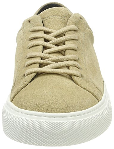 Elpique Outsole white Trainers Shoe RepubliQ Camel Women's Royal Off 38 White Suede zYExq1w