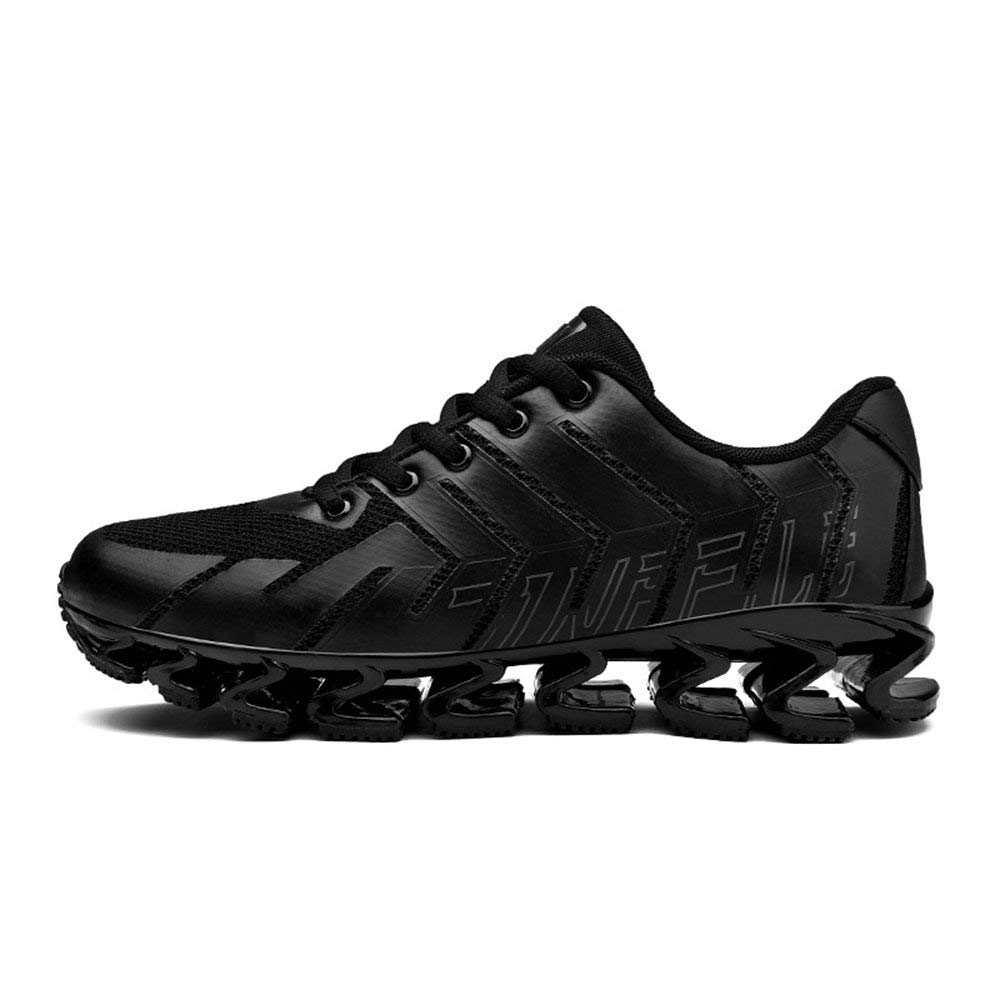 - Dsx Trainers Men's Sneaker Spring and Summer Breathable Casual shoes Black Running shoes, black, 40EU