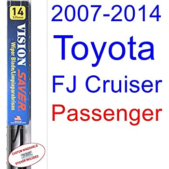 2007-2014 Toyota FJ Cruiser Wiper Blade (Passenger) (Saver Automotive Products-Vision Saver) (2008,2009,2010,2011,2012,2013)