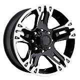 """Ultra Wheel 235B Maverick Matte Black Wheel (16x8""""/8x6.5m..."""