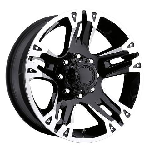 Ultra Wheel 235B Maverick Matte Black Wheel (17x8