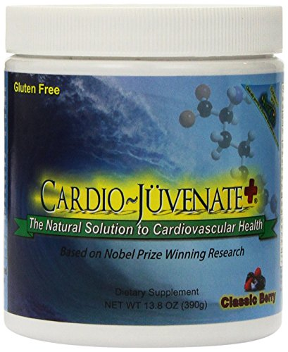 Cardio~Juvenate+ Classic Berry Cardio Health Formula: Nitric Oxide Supplement with 5000mg L-arginine, 1000mg L-citrulline, 1000mg L-carnitine, 2500IU Vitamin D3 per serving to Naturally Improve Heart Health