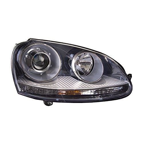 lacement for Volkswagen GTI HID Passenger side headlight headlamp ()