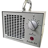 Fresh Air Commercial Air Purifier Ozone Generator 3500mg Cleaner Deodorizer