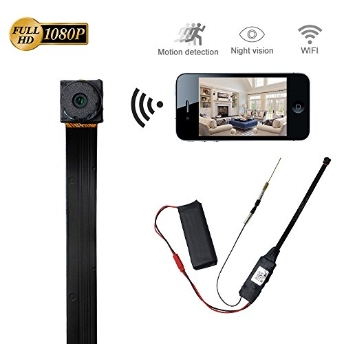 Mini Spy Hidden Camera LXMIMI HD 1080P Video & Photo Camcorder Business Portable Cam with Motion Detection Wireless Remote Control from LXMIMI
