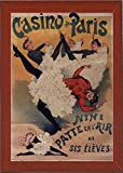 Casino de Paris Framed Print 20.23''x13.88'' by Vintage Apple Collection