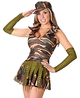 Diseño militar de pareja de armado del ejército traje de ...