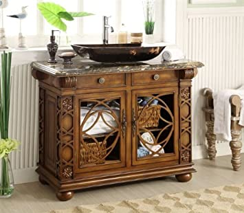42u0026quot; Gorgeous Vigo Vessel Sink Bathroom Vanity Model HF1217GF