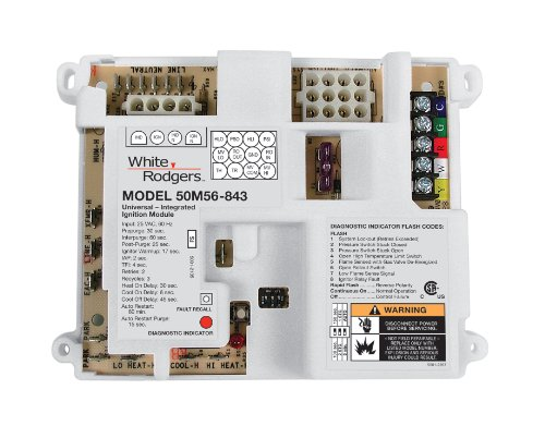 (White-Rodgers 50M56U-843 White Rodgers Universal Integrated Control)