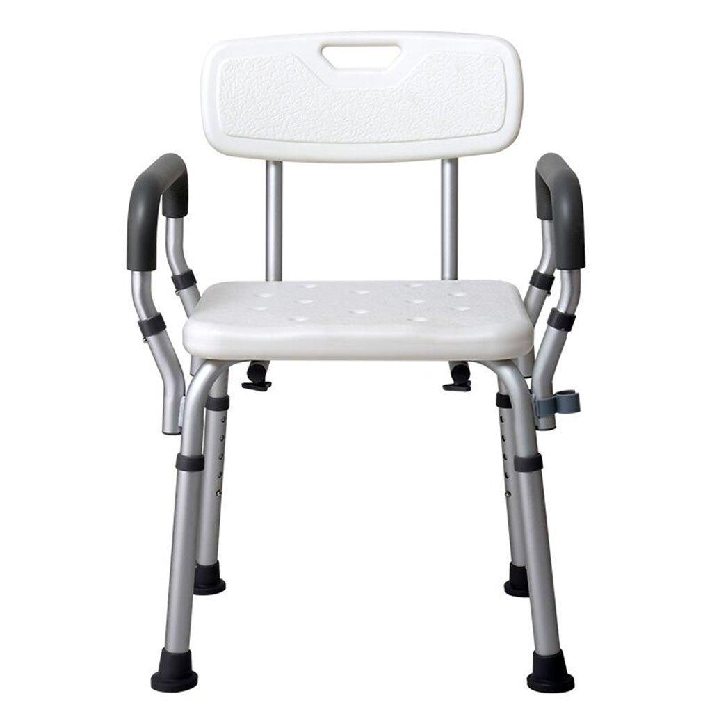 GRJH® シャワー椅子、高さ調節可能リムーバブル妊婦浴室椅子浴室シャワー椅子 防水,環境の快適さ   B079GMWP41